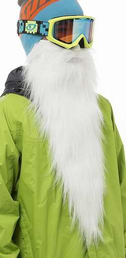历史新低!Beardski SM-50008 Merlin 白色防寒护脸面罩2.1折 9.41加元限时清仓!