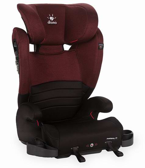 Diono 谛欧诺 Monterey XT 增高汽车安全座椅 7.6折129.99加元包邮!3色可选!