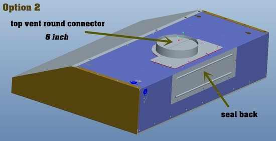 Vesta 860CFM 6速超强吸力超静音 不锈钢欧式抽油烟机 429.99加元包邮!