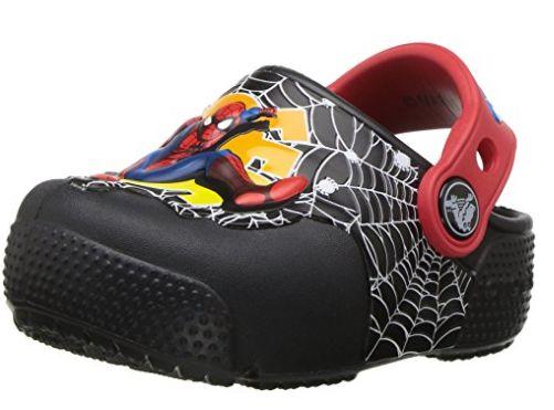 crocs Crocsfunlab儿童蜘蛛侠洞洞鞋 18.28加元,原价 54.99加元