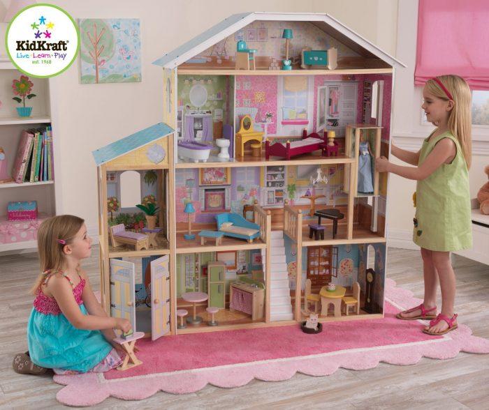 KidKraft 65252 1.35米大型玩具娃娃屋 181.99加元包邮!