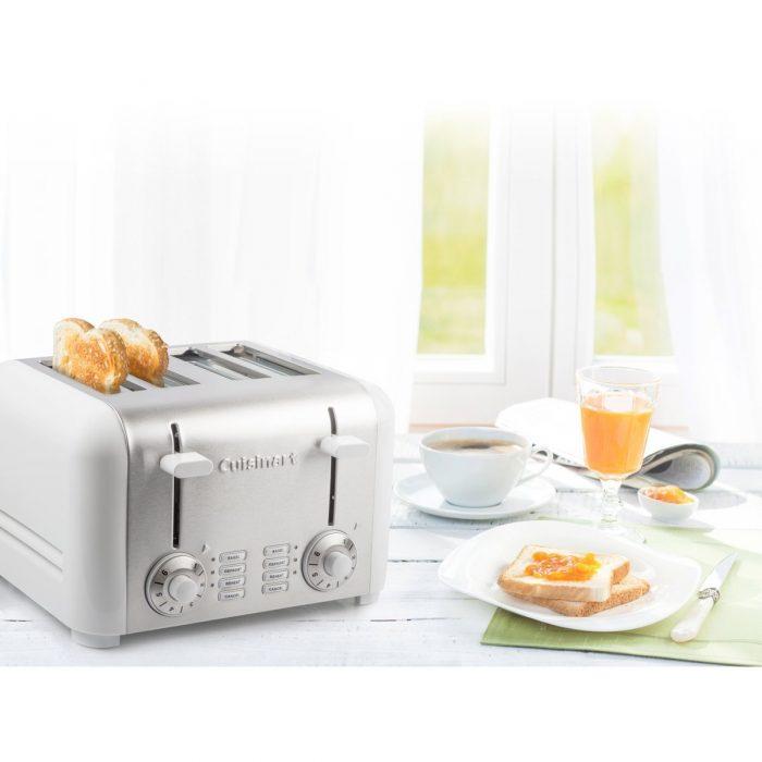 CUISINART CPT-340WC 不锈钢4片烤面包机 69.99加元,原价 77.98加元,包邮