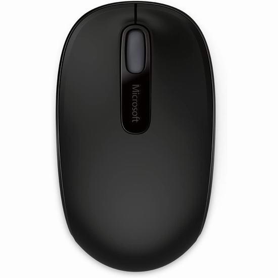 Microsoft 微软 1850 无线便携鼠标 11.98加元!