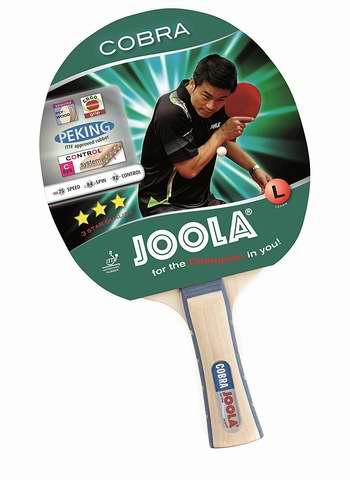 金盒头条:JOOLA 德国优拉 53030 Cobra 眼镜蛇 娱乐级乒乓球拍4.8折 15.59加元限时特卖!