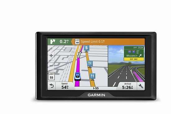 历史新低!Garmin 佳明 Drive 50/60 5英寸/6英寸 红灯/测速预警 车载GPS导航仪 129.99-164.99加元包邮!