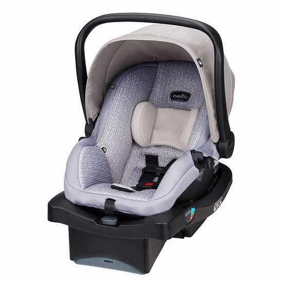 历史最低价!Evenflo Litemax Ls 35 车载婴儿提篮 129.97加元包邮!