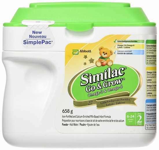 Similac 雅培 Omega Step 2 二段婴儿奶粉超值套装 19加元!