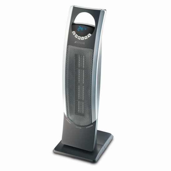 历史新低!Bionaire BCH9300-CN 26英寸塔式陶瓷电热器4.8折 47.94加元限时特卖并包邮!