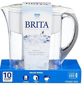 Brita Pacifica 10杯滤水壶 29.97加元,原价 53.19加元