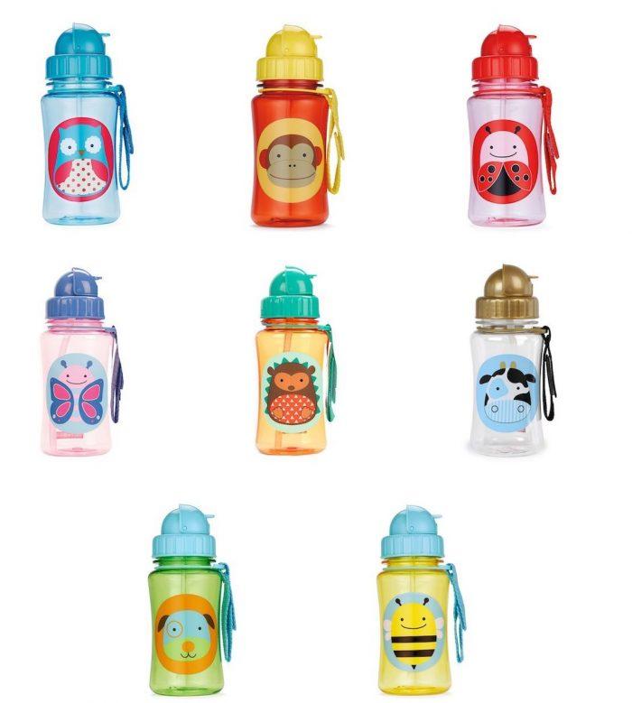 精选多款超可爱 Skip Hop 动物图案吸管水杯 7.99加元特卖!