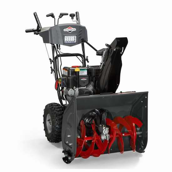 Briggs & Stratton 208cc 24英寸双阶汽油铲雪机 679.15加元!