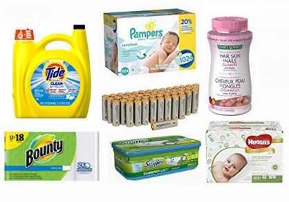 Prime会员专享!Subscribe订购居家用品、保健品、个人护理产品、婴儿用品等,额外7-8折!