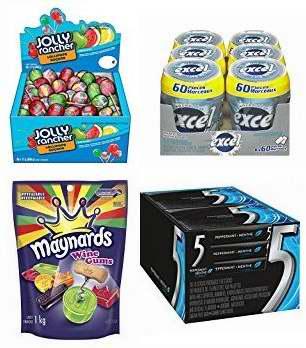 精选26款糖果、口香糖等特价销售!会员专享!