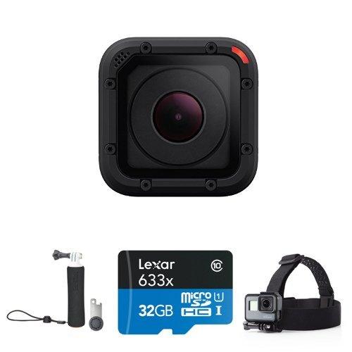 历史新低!GoPro HERO Session 轻巧版迷你高清运动摄像机+16GB闪存卡+头部绑带+手柄套装 249.99加元包邮!