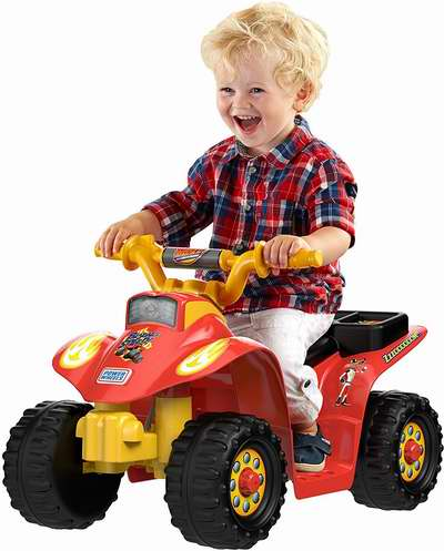 历史新低!Fisher-Price 费雪 Power Wheels 儿童四轮电动车 74.99加元包邮!会员降为67.49加元包邮!