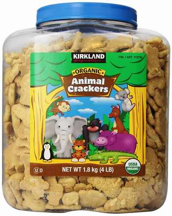 历史新低!Kirkland Signature 有机动物饼干(4磅)3.8折 15.98加元!