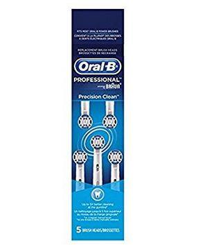Oral-B Precision Clean 替换电动牙刷头5支装 25.57加元!