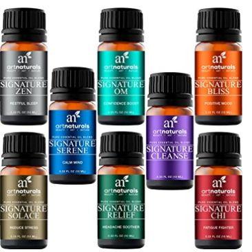 ArtNaturals 100%纯高质量 精油礼品套装 16.95加元!