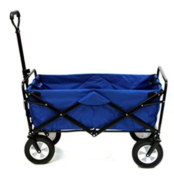 历史新低!Mac Sports 蓝色可折叠四轮拖车100.84加元,原价 216.92加元,包邮