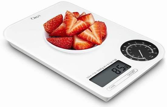 白菜价!Ozeri Rev 数字/机械双模式 厨房秤2折 10.95加元清仓!