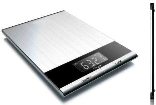 白菜价!Ozeri 超薄专业数字不锈钢厨房秤2.5折 10.95加元清仓!