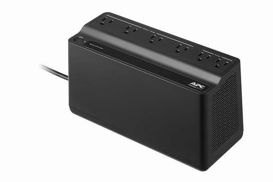 APC Back-UPS 425VA UPS 不间断备用电源插线板 52.43加元包邮!