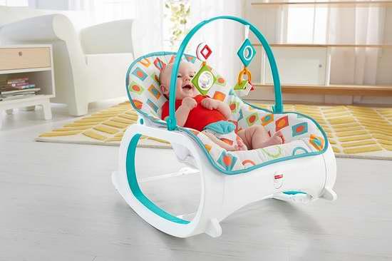 Fisher-Price 费雪 Infant-To-Toddler Rocker-Geo 婴幼儿震动安抚摇椅 51.22加元包邮!