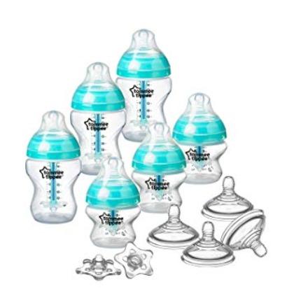Tommee Tippee 汤美天地 母乳自然系列 防胀气奶瓶超值装 39.02加元,原价 61加元