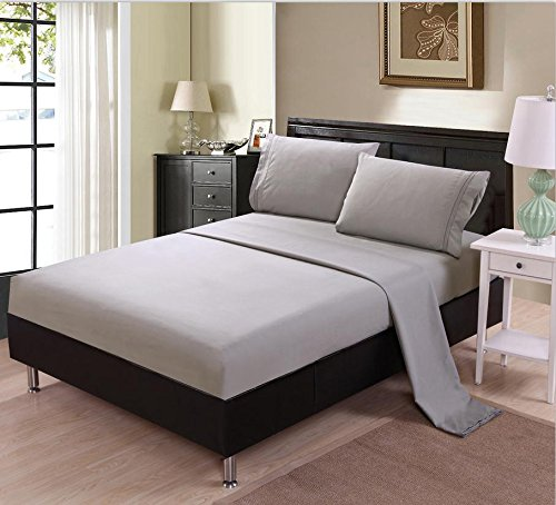 白菜价!历史新低!Unique Home 1500线程 超软防皱Queen床单4件套 20.49加元包邮!2色可选!