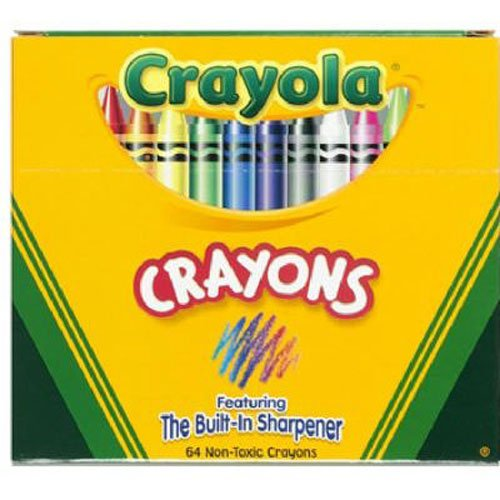 历史最低价!Crayola 蜡笔64支装 1.97加元!