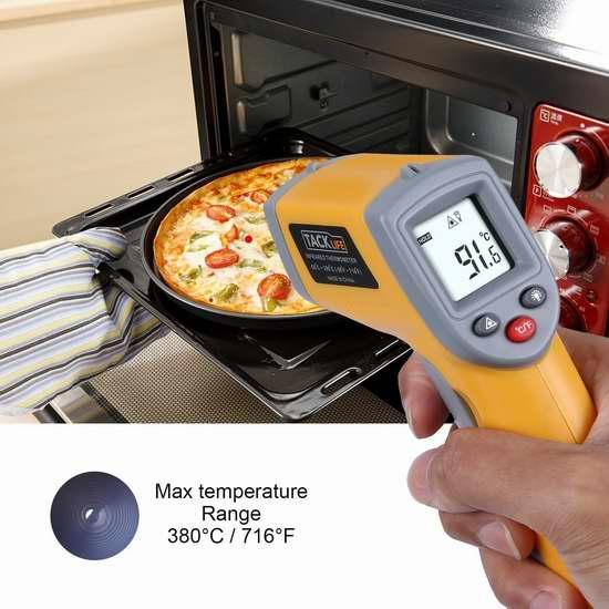 销量冠军!白菜价!Tacklife T02 数字激光红外测温仪 10.19加元!