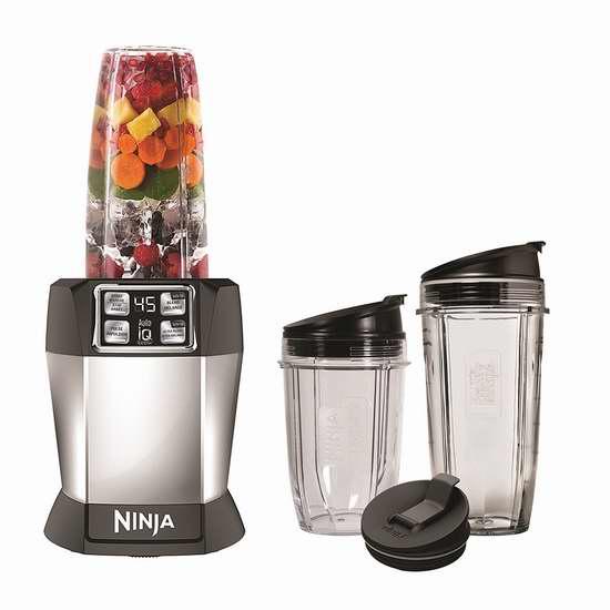 Ninja BL481C Nutri Auto-iQ 专业智能搅拌机 99.04加元包邮!