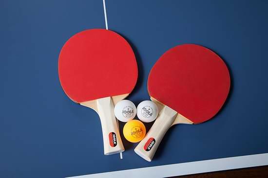 JOOLA 54833 Spirit 娱乐级乒乓球拍套装(2球拍+3球)7.3折 23.68加元!