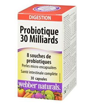 Webber Naturals 30亿天然益生菌(30粒) 10.9加元包邮!