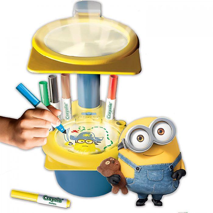Crayola Minions小黄人款发光投射画板 19.99加元,原价 28.96加元