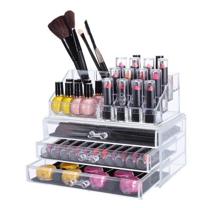 SortWise 透明化妆品首饰收纳盒 18.95加元