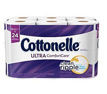 Cottonelle Ultra 12卷超软卫生纸 4.74加元,原价 14.97加元