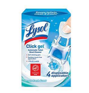 Lysol Click 马桶清洁凝胶4个 3.3加元