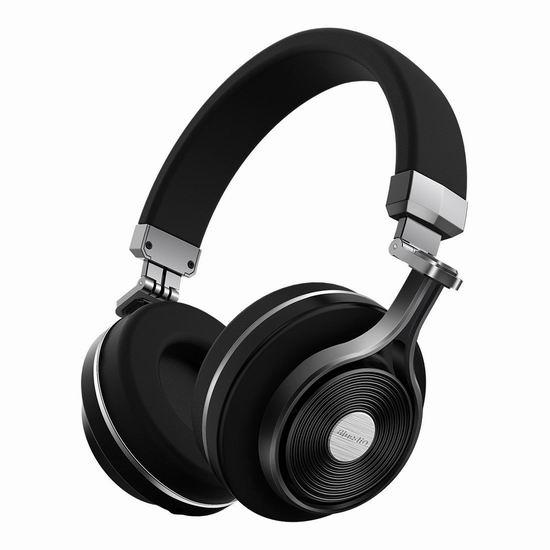 Bluedio T3 蓝牙4.1无线立体声头戴式耳机4.2折 33.99加元限量特卖并包邮!2色可选!