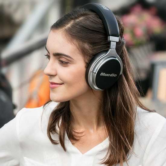 Bluedio 蓝弦 F2 Faith 信念 主动降噪 头戴式蓝牙耳机4折 39.99加元限量特卖并包邮!两色可选!