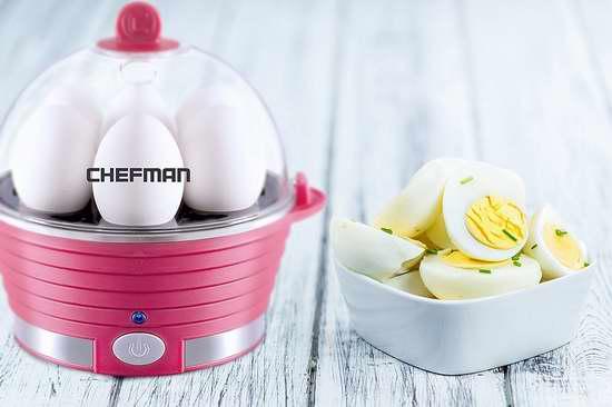 历史新低!Chefman RJ24-V2 多功能家用煮蛋器/蒸煮器3.3折 19.99加元限量特卖!