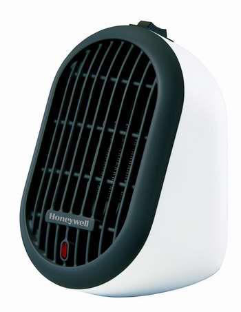 历史新低!Honeywell HCE100WCD1 个人迷你电取暖器 17.99加元!