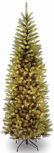 白菜价!National Tree 7.5英尺圣诞树+350小灯套装 63.7加元包邮!