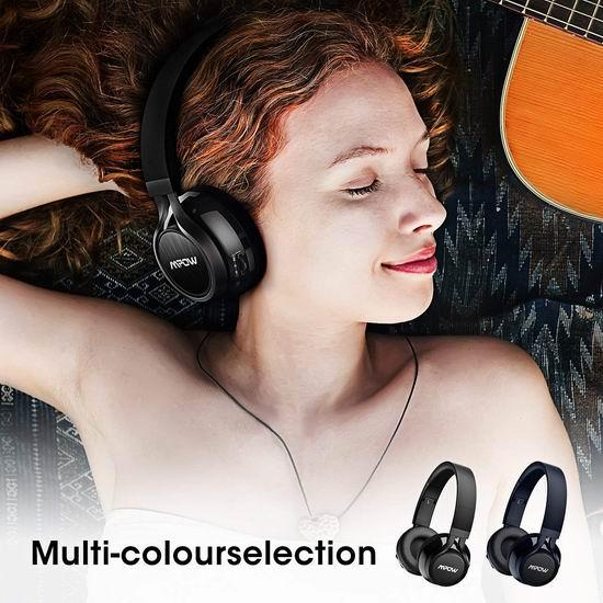 Mpow Thor 超长续航无线蓝牙头戴式耳机 28.99-29.59加元限量特卖并包邮!