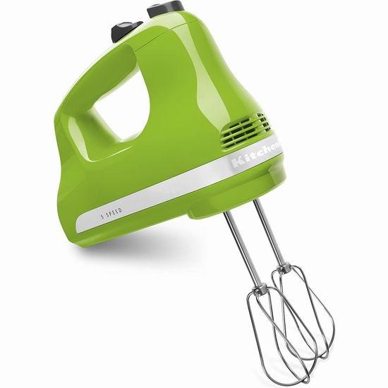 KitchenAid KHM512GA 5速手持式强力搅拌器 46.85加元包邮!