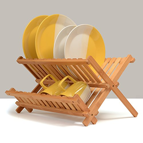 Belmint 100%天然竹 折叠式沥水架 39.99加元+包邮!