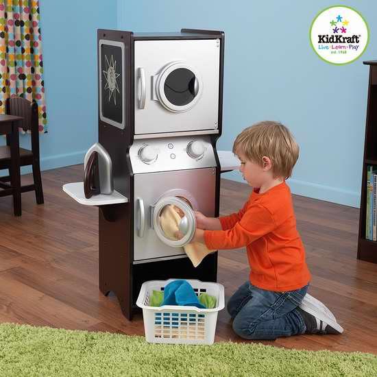 历史新低!KidKraft Laundry 儿童洗衣房玩具套装2.8折 69.99加元清仓并包邮!