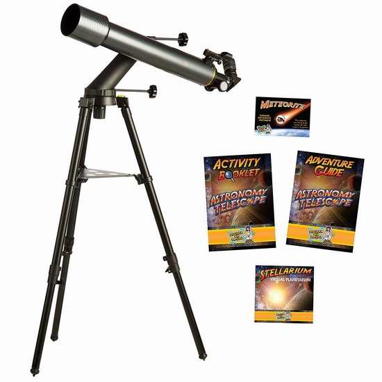 Discover with Dr. Cool 专业折射式天文望远镜4.1折 101.99加元限量特卖并包邮!