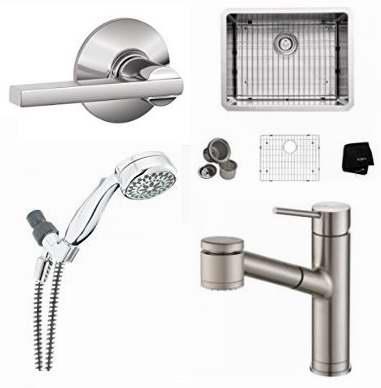 金盒头条:精选7款 Schlage、Kraus、Delta 品牌厨房水龙头、水槽、淋浴头、门把手2.7折起特卖!