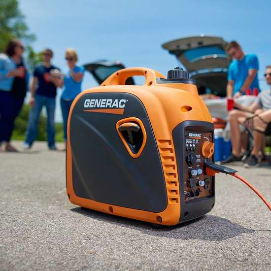 Generac 7117 GP2200i 2200瓦便携式变频发电机 662.99加元包邮!露营必备!